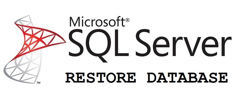 RESTORE DATABASE MS SQL Server