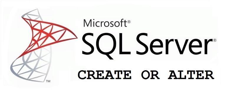 CREATE OR ALTER в языке T-SQL