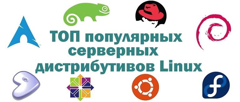 ТОП 5 популярных дистрибутивов Linux для сервера