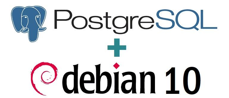 Установка и настройка PostgreSQL 12 на Debian 10