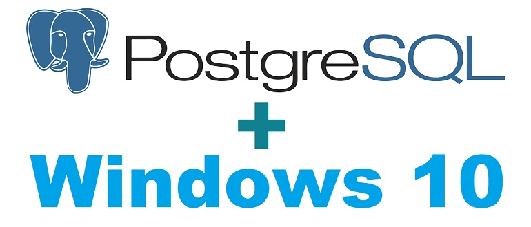 Установка и настройка PostgreSQL 12 на Windows 10